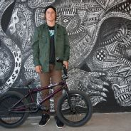 Dennis Enarson and his Haro SD V2