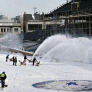 Snowed out at Wrigley Field