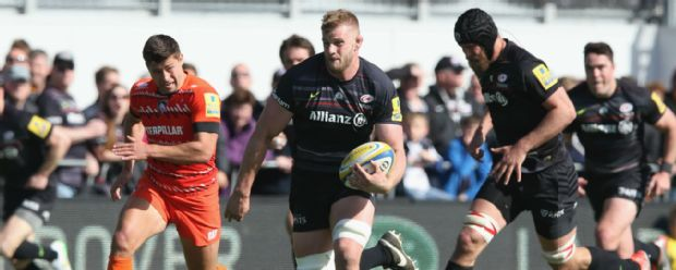 George Kruis in action