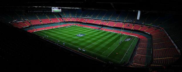 Millennium Stadium ahead of Wales v Ireland