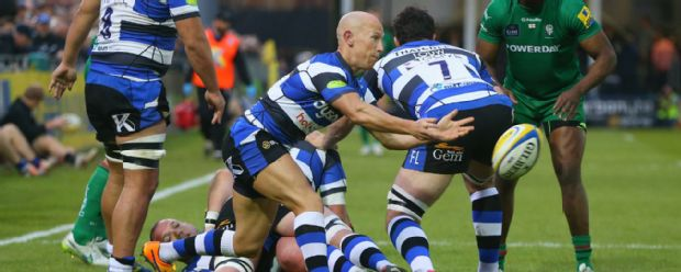 Peter Stringer in action