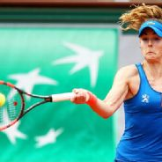 Pic of the Day: Alize Cornet on Day 2