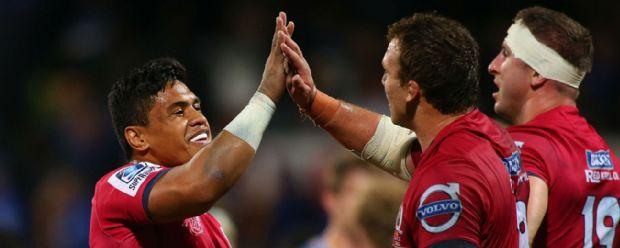 Queensland Reds celebrate