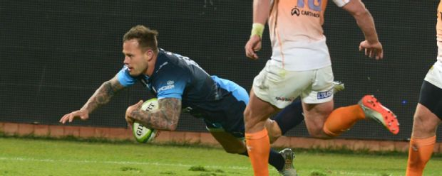 Francois Hougaard in action