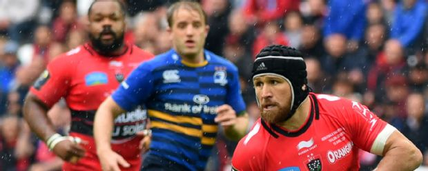 Matt Giteau in action