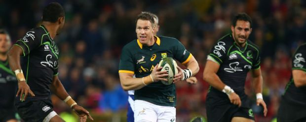 Jean de Villiers of South Africa during the match between South Africa and World VX