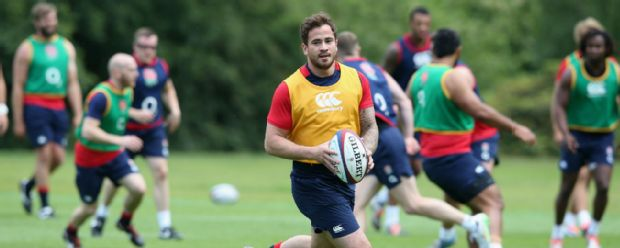Danny Cipriani during England training