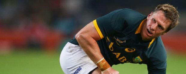 De Villiers suffered a jaw fracture in defeat to the Pumas.