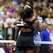 Williams sisters embrace