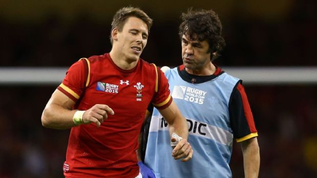 Liam Williams suffered a thigh injury against Uruguay last weekend.