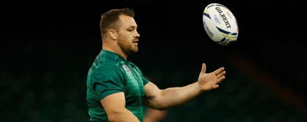 Cian Healy in action during the Ireland Captain's Run