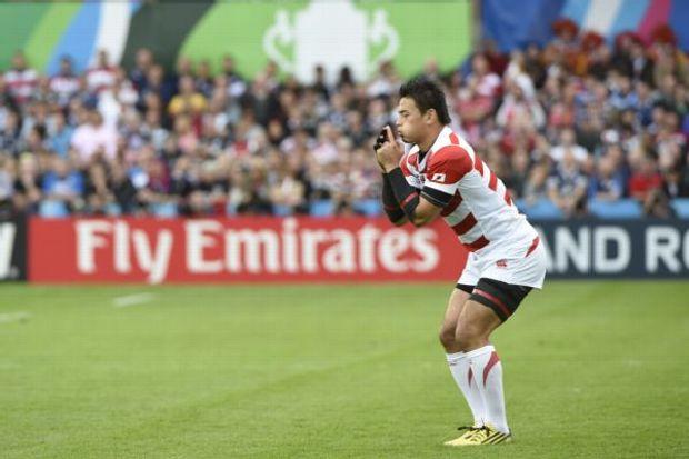 Japan kicker Ayumu Goromaru