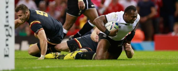 Fiji pushed Wales all the way in a tough, physical match