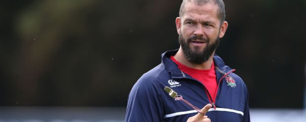 England backs coach Andy Farrell