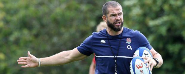 Andy Farrell, England backs coach