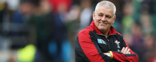 Warren Gatland watches on ahead of Wales vs South Africa