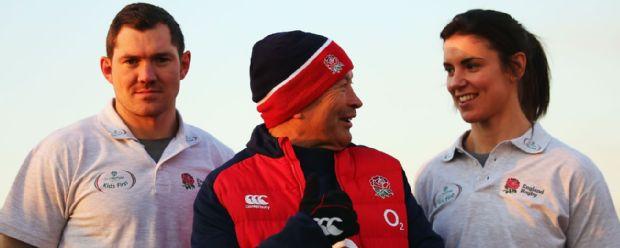 Alex Goode and Eddie Jones
