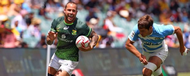 Francois Hougaard of South Africa