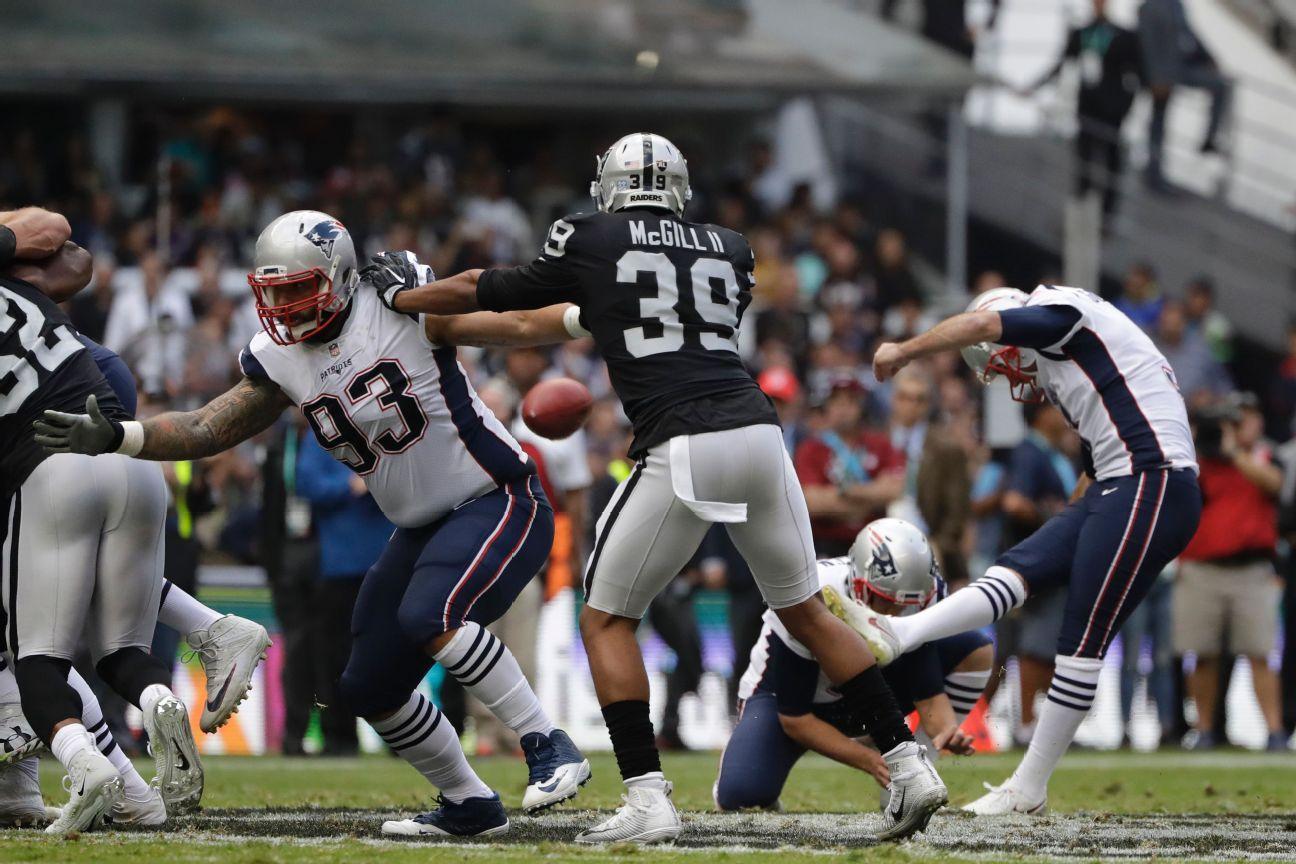 Stephen Gostkowski, K, New England Patriots