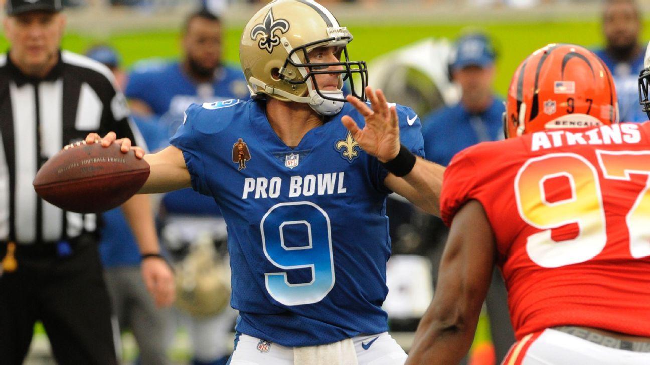 Drew Brees, QB, NFC (New Orleans Saints)