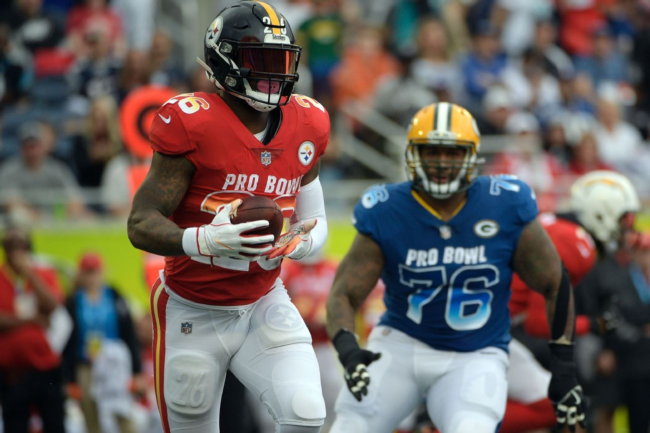 Le'Veon Bell, RB, AFC (Pittsburgh Steelers)