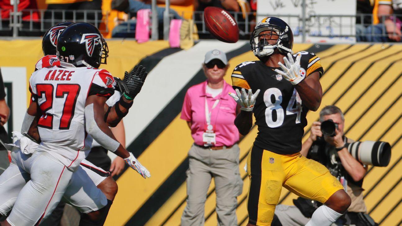 Antonio Brown, WR, Pittsburgh Steelers