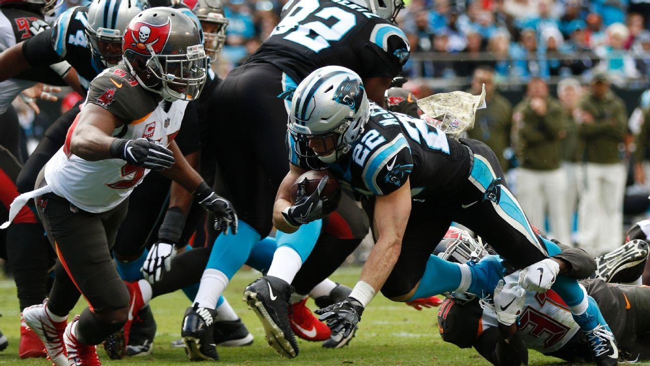 Chris McCaffrey, RB, Carolina Panthers