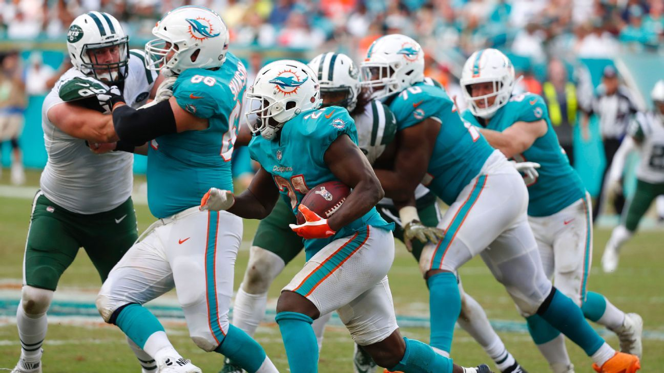 Frank Gore, RB, Miami Dolphins
