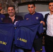 Junior Alonso y Marcos Díaz (Boca Juniors)