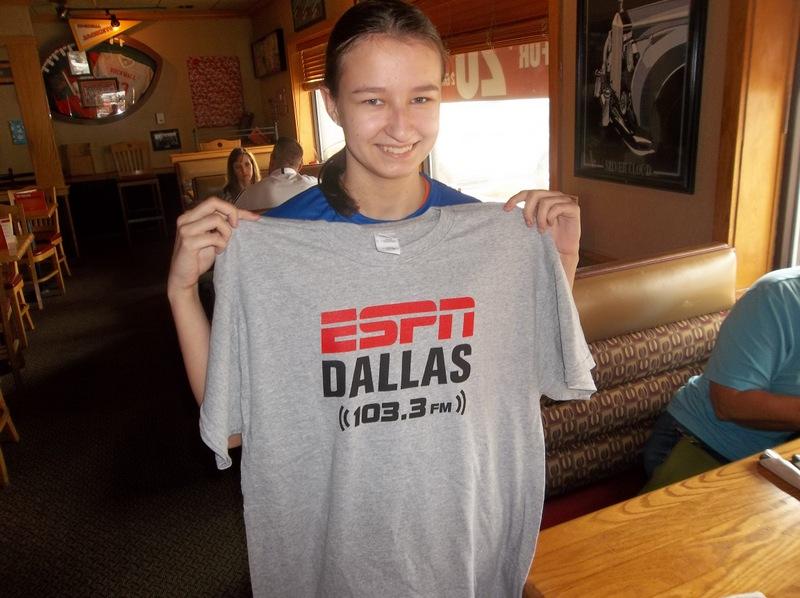 ESPN Dallas GameDay at Applebee's
