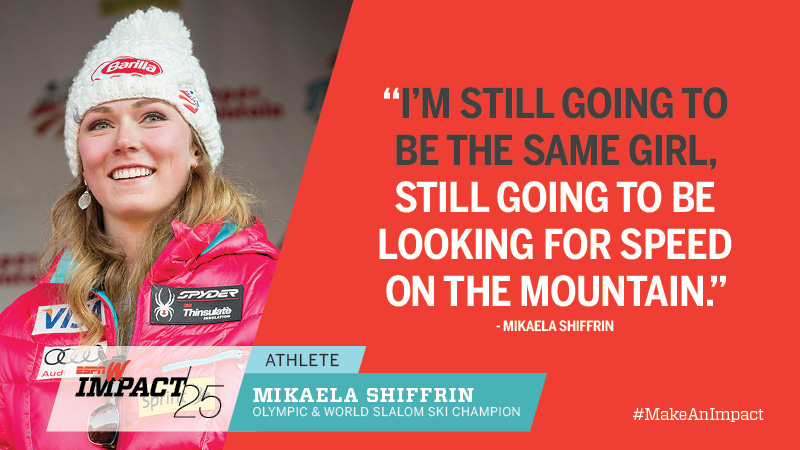 Mikaela Shiffrin, 19, Olympic & World Slalom Ski Champion