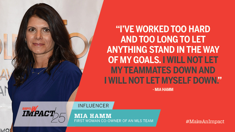 Mia Hamm, 42, First Woman Co-Owner Of An MLS Team