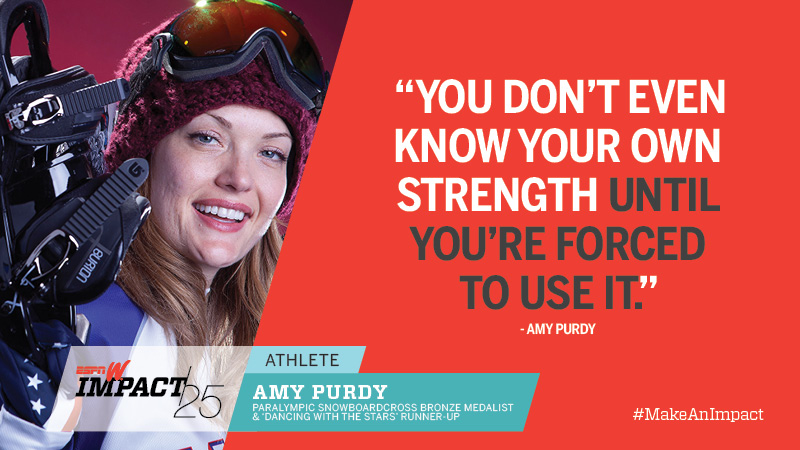 Amy Purdy, 35, Paralympic Snowboardcross Bronze Medalist & 'Dancing With The Stars' Runner-Up