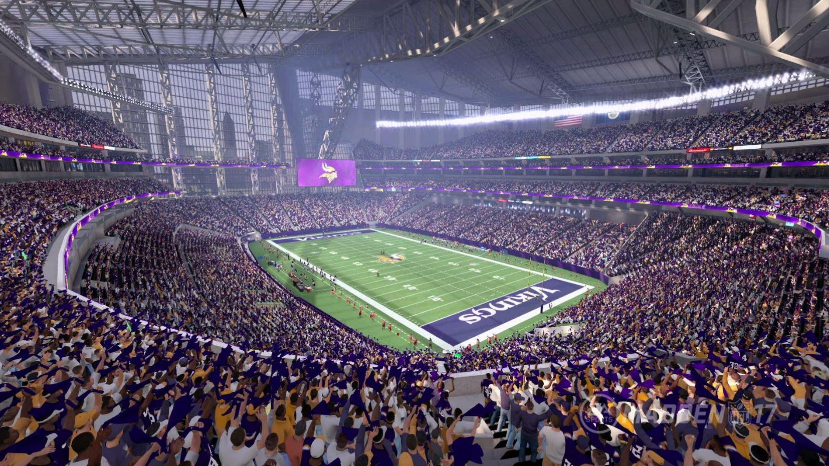 Taking A Madden View Of Every Nfl Stadium