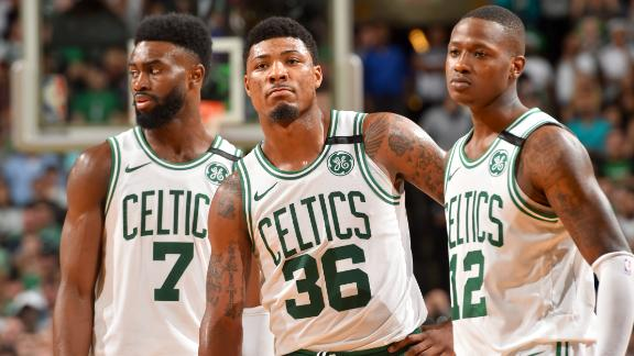 Boston Celtics players respond to Cleveland Cavaliers coach Tyronn Lue's 'gooning the game up ...