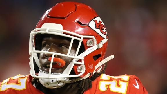 Kareem Hunt speaks out on ESPN after video surfaces, Chiefs release him