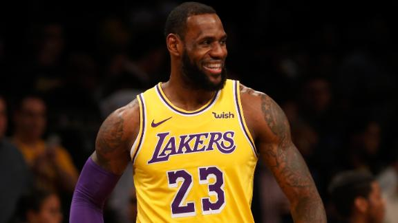 af37d86aa7c9 LeBron s 34th birthday celebrated with 34 memorable plays
