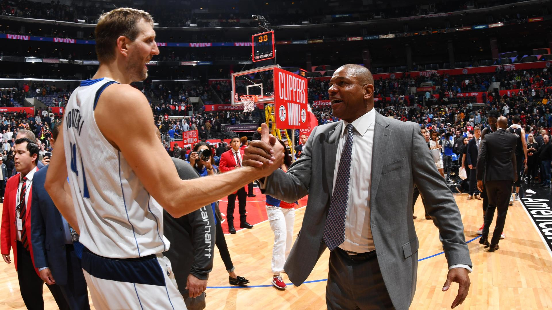 Doc Rivers Stops Game To Honor (Retiring?) Mavs Great Dirk Nowitzki