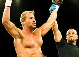 Tommy Morrison won his MMA debut to the chagrin of the crowd Saturday night.