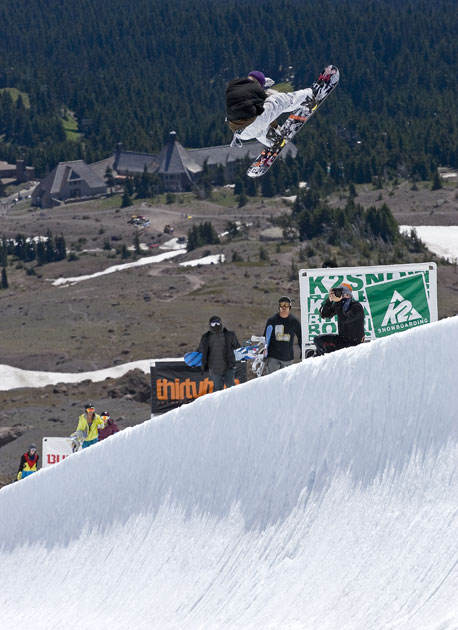 For sessions 3 and 4 this summer, High Cascade will convert their 18-foot pipe into an Olympic-sized 22-foot monster. Yes, the entire US Snowboard team will be there. Will you?