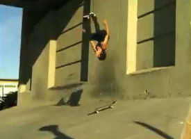 The Mile High Ninja is back...and backflipping.