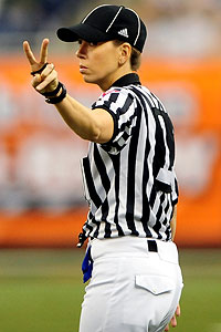 Dean Blandino, the NFL's vice president of officiating, said Sarah Thomas becoming an NFL official is only a matter of time.