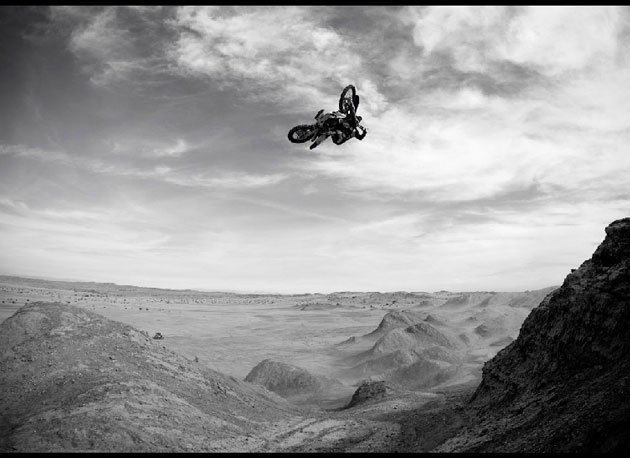 Jeremy was a gifted rider who made photographers' jobs easy. Ocotillo Wells (pictured) was one of his favorite places to ride.