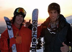 Sammy Carlson and Scott Rowley