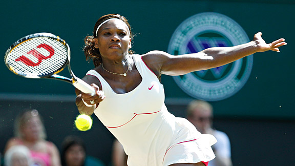 Sports teach an athlete like Serena Williams that her body is formidable, not just beautiful.
