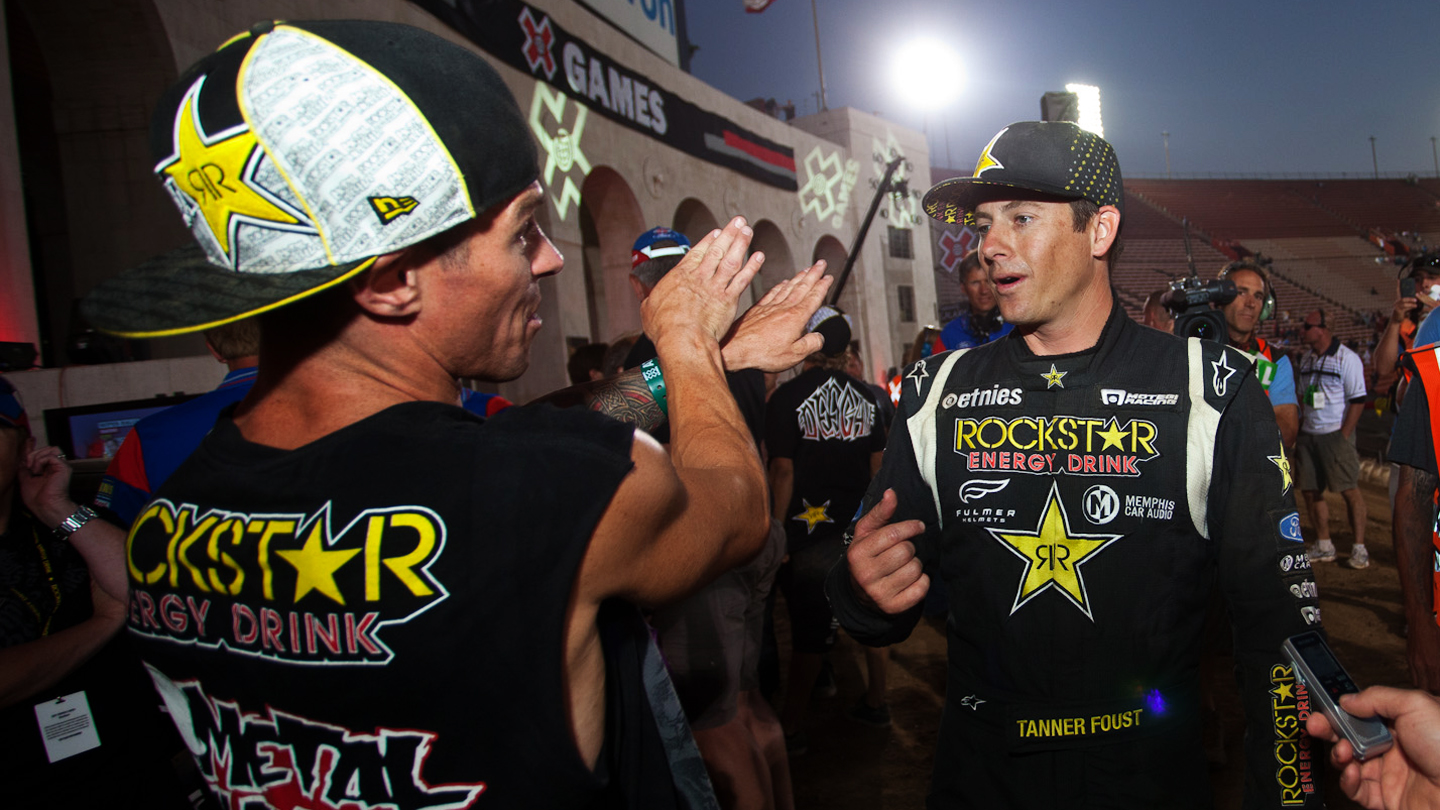 Brian Deegan and Tanner Foust