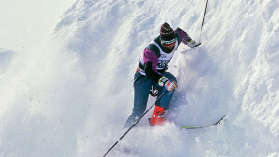 Doug Coombs, circa 1992, at the World Extreme Skiing Championships. The historic event is being resurrected next spring.