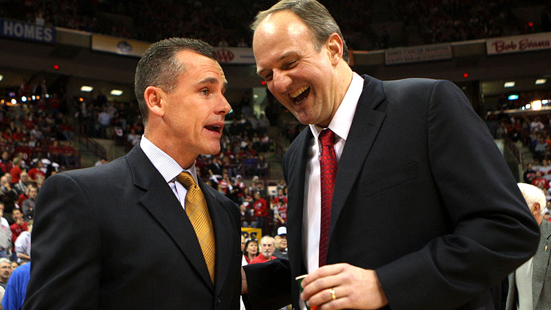Thad Matta and Billy Donovan