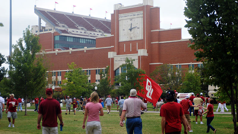 Gaylord Family-Oklahoma Memorial Stadium