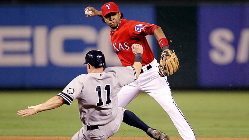 Best infield arm - Andrus